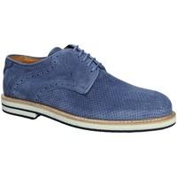 Zapatos Hombre Derbie Exton 671 Azul