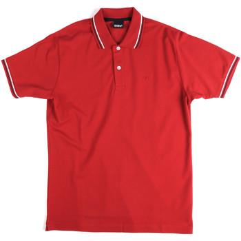 textil Hombre Polos manga corta Key Up 2Q70G 0001 Rojo