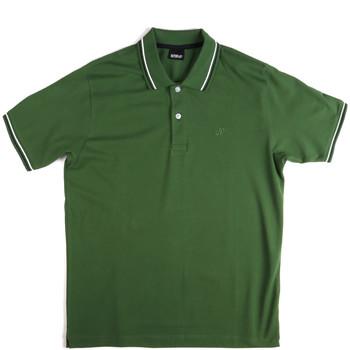 textil Hombre Polos manga corta Key Up 2Q70G 0001 Verde