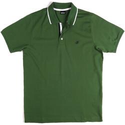 textil Hombre Polos manga corta Key Up 2Q711 0001 Verde