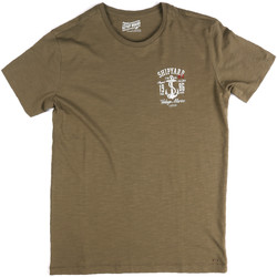 textil Hombre Camisetas manga corta Key Up 2G77S 0001 Verde