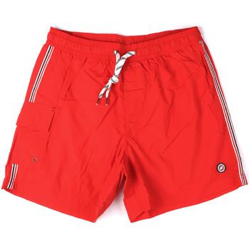 textil Hombre Bañadores Key Up 2H16X 0001 Rojo