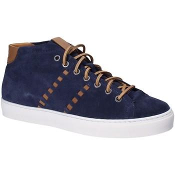 Zapatos Hombre Zapatillas altas Exton 476 Azul