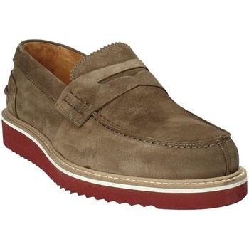 Zapatos Hombre Mocasín Exton 5102 Marrón