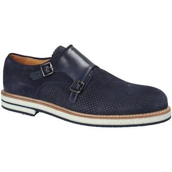 Zapatos Hombre Derbie Exton 673 Azul