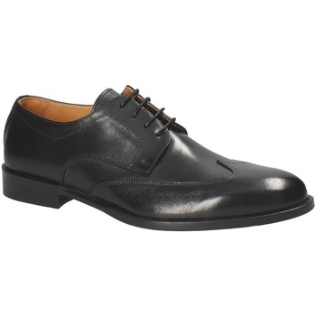 Zapatos Hombre Derbie Exton 1372 Negro