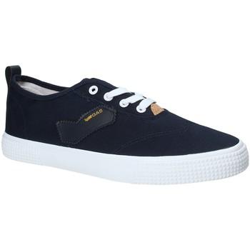 Zapatos Hombre Zapatillas bajas Gas GAM810111 Azul