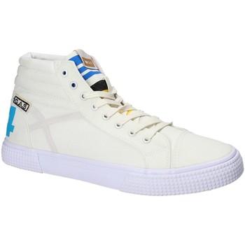 Zapatos Hombre Zapatillas altas Gas GAM810152 Blanco