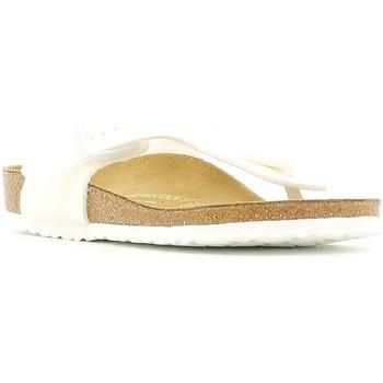 Zapatos Niños Chanclas Birkenstock 847223 Blanco