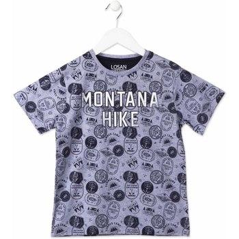 textil Niños Camisetas manga corta Losan 813-1007AA Azul