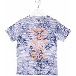 textil Niños Camisetas manga corta Losan 813-1023AA Azul