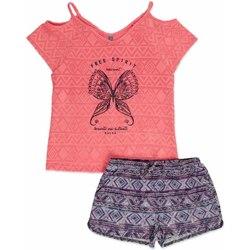 textil Niña Conjunto Losan 814-8022AB Rosado