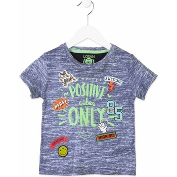 textil Niños Camisetas manga corta Losan 815-1017AC Azul