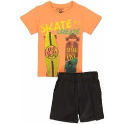 textil Niño Conjunto Losan 815-8046AC Naranja