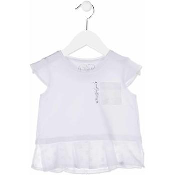 textil Niña Camisas Losan 816-1016AD Blanco