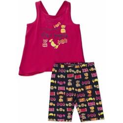 textil Niña Conjunto Losan 816-8044AD Rosado