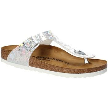 Zapatos Niños Chanclas Birkenstock 1008093 Blanco