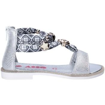 Zapatos Niña Sandalias Asso 64075 Gris