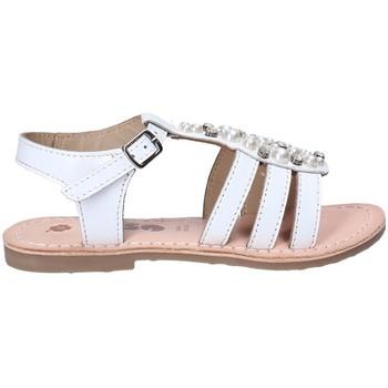Zapatos Niña Sandalias Asso 65952 Blanco