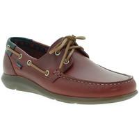 Zapatos Hombre Zapatos náuticos CallagHan 14400 Rojo