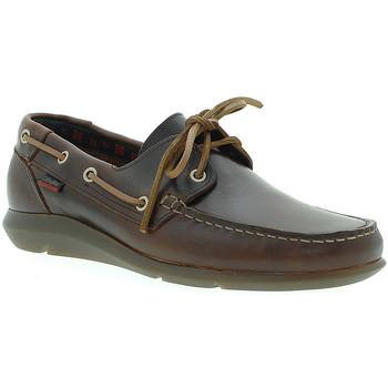 Zapatos Hombre Zapatos náuticos CallagHan 14400 Marrón