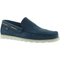 Zapatos Hombre Mocasín CallagHan 15400 Azul
