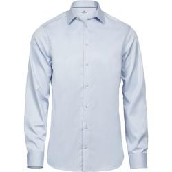 textil Hombre Camisas manga larga Tee Jays T4021 Azul Claro