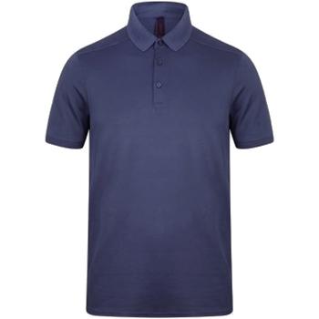 textil Hombre Polos manga corta Henbury HB460 Azul marino