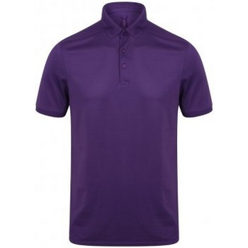 textil Hombre Polos manga corta Henbury HB460 Púrpura brillante