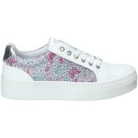 Zapatos Niña Zapatillas bajas Melania ME6104F8E.A Blanco