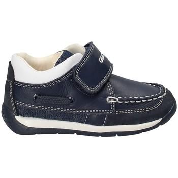 Zapatos Niño Mocasín Geox B720BC 08513 Azul