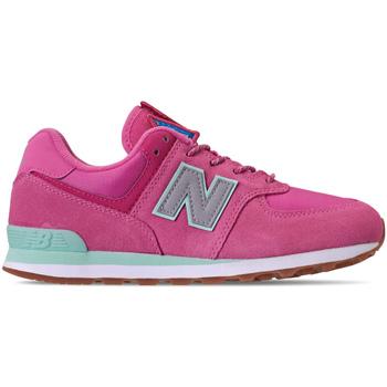Zapatos Niña Zapatillas bajas New Balance NBGC574PAF Rosado