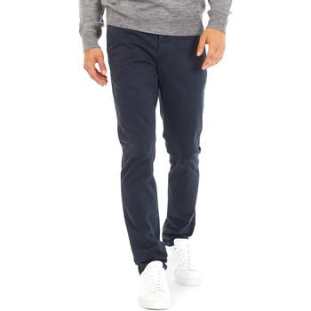 textil Hombre Pantalones chinos Gas 360702 Azul