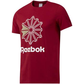 textil Hombre Camisetas manga corta Reebok Sport DH2096 Rojo