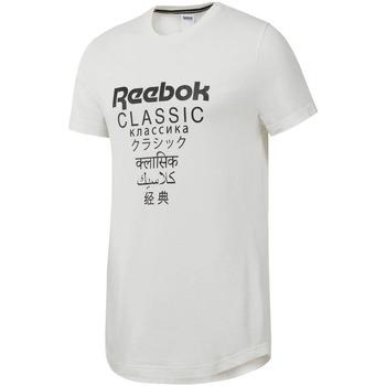 textil Hombre Camisetas manga corta Reebok Sport DJ1893 Blanco