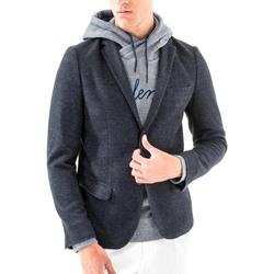 textil Hombre Chaquetas / Americana Antony Morato MMJA00368 FA100171 Azul
