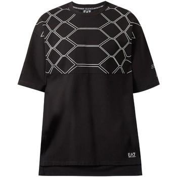 textil Hombre Camisetas manga corta Ea7 Emporio Armani 6ZPT43 PJQ0Z Negro