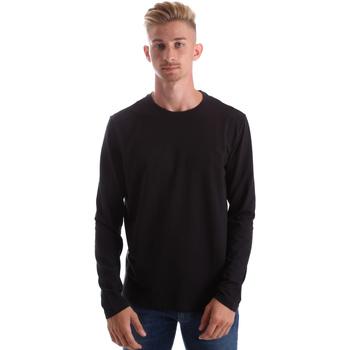 textil Hombre Camisetas manga larga Gas 300187 Negro