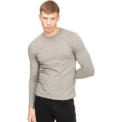 textil Hombre Camisetas manga larga Gas 300187 Gris