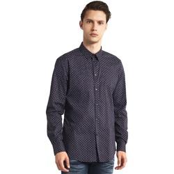textil Hombre Camisas manga larga Gaudi 821BU45005 Gris