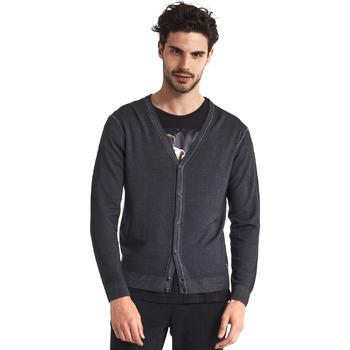 textil Hombre Chaquetas de punto Gaudi 821FU53003 Gris