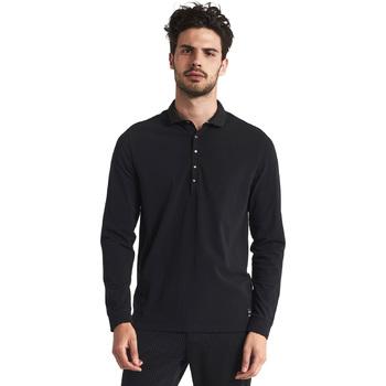 textil Hombre Polos manga larga Gaudi 821FU64012 Negro