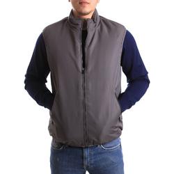 textil Hombre Chaquetas de punto Navigare NV66009 Gris