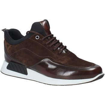 Zapatos Hombre Zapatillas bajas Exton 162 Marrón