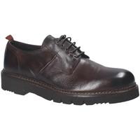 Zapatos Hombre Derbie Exton 390 Marrón