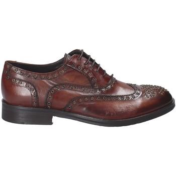 Zapatos Hombre Derbie Exton 5358 Marrón