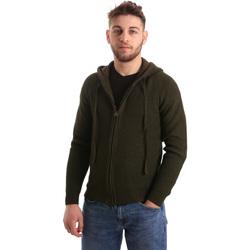 textil Hombre Chaquetas de punto U.S Polo Assn. 50519 52229 Verde