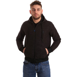 textil Hombre Chaquetas de punto U.S Polo Assn. 50589 52255 Gris