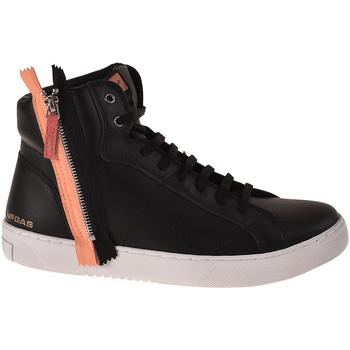 Zapatos Hombre Zapatillas altas Gas GAM824085 Negro