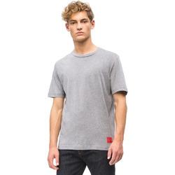 textil Hombre Camisetas manga corta Calvin Klein Jeans J30J309616 Gris